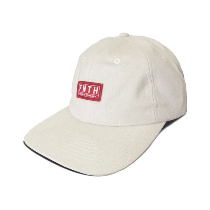 the 49th Supply Co Crossover Dad Hat Hiking Alaska