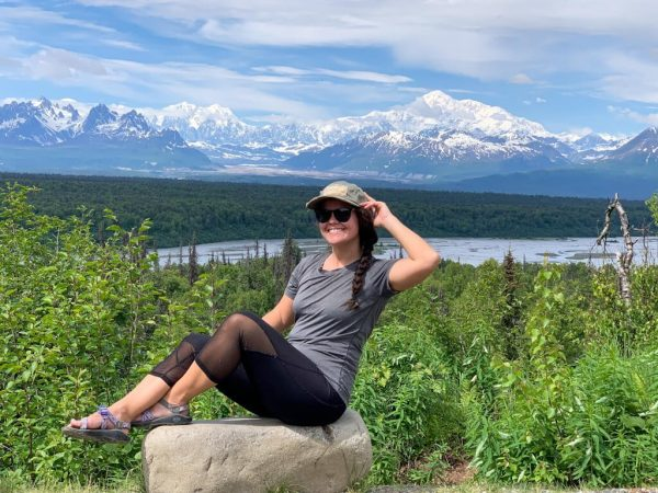 Hike Moost Flats Loop Trail Denali View