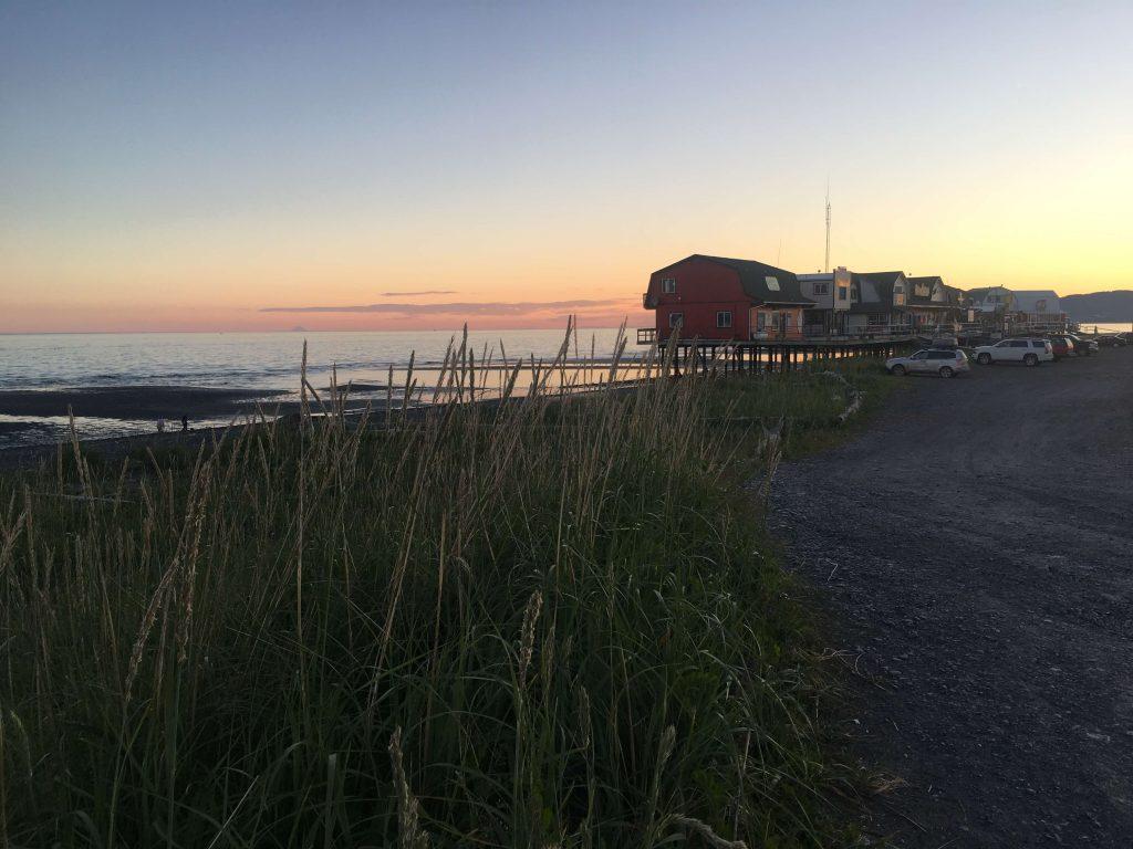 Homer Spit Sunset Alaska