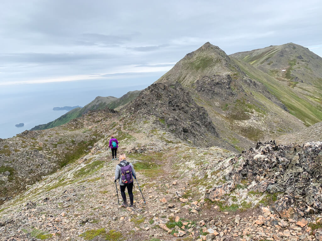 Grace Ridge Trail Thru Hike Homer Alaska
