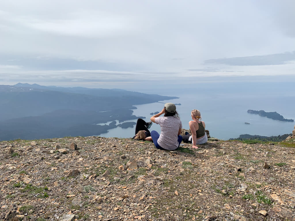 Hanging out above Tutka Bay Alaska