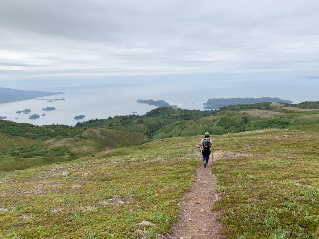 Hike Grace Ridge Homer Alaska