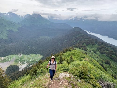 Hike Grace Ridge Trail Alaska