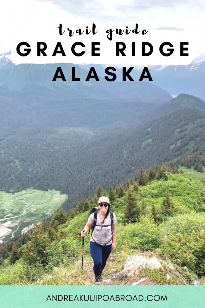 Hike Grace Ridge Trail in Kachemak Bay State Park near Homer, Alaska. This 9 mile thru trail has incredible views of mountains, fjords, and islands. #hike #alaska #gracerdige #outdoorwomen #homer #trailguide