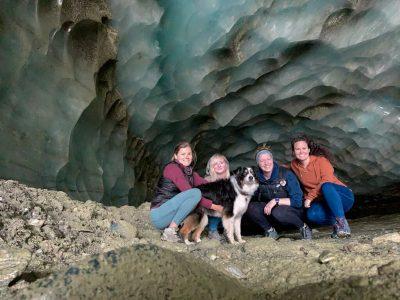 Hike Castner Glacier Ice Cave Trail