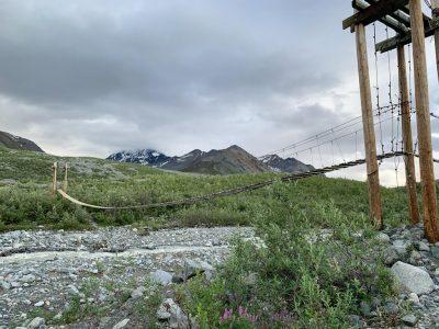 Hike Gulkana Glacier Trail in Alaska