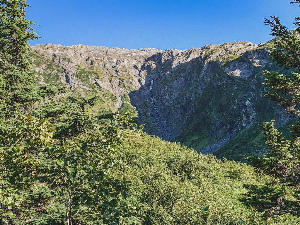 Hike Horsetail Falls Trail Whittier Alaska