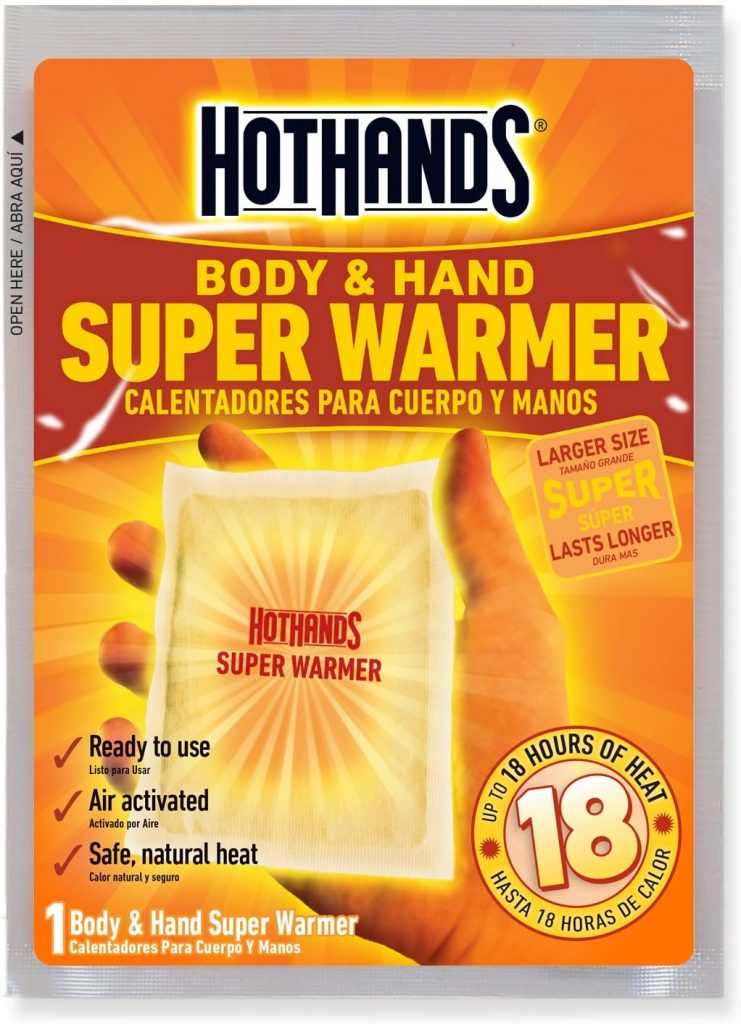 HotHands Body & Hand Super Warmers - Up to 18 Hours of Heat - For Period Cramps