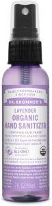 Dr Bronners Organic Hand Sanitizer Travel