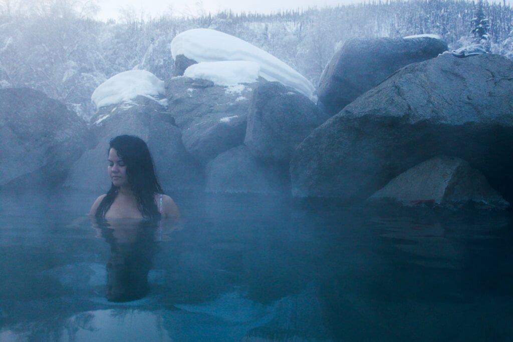 Chena Hot Springs Natural Hot Springs Fairbanks Alaska
