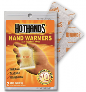 HotHands Hand Warmers for Alaska Winter Packing List