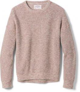 REI Co-Op Sweater Alaska Winter Outfit Packing