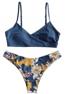 ZAFUL Strap Swimsuit Womens Bathing Suit