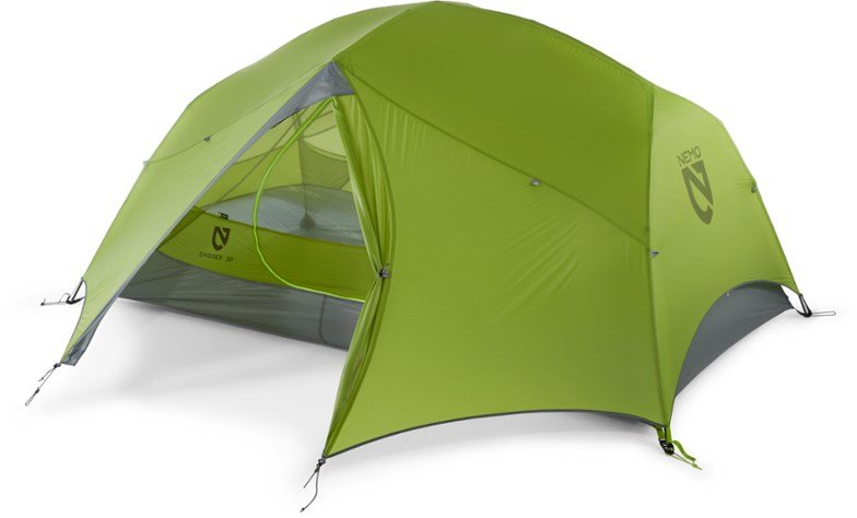 Backpacking Checklist Tent NEMO Dagger 2 person kayak tent