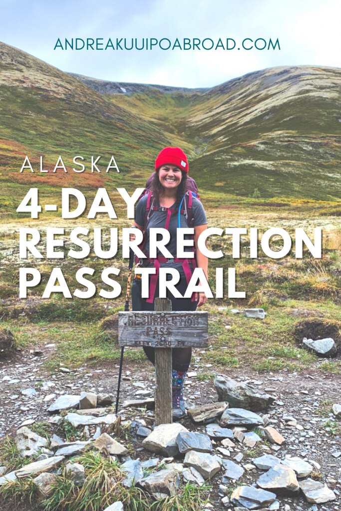 Plan a multi-day hut to hut backpacking trip on Alaska. Backpacking Resurrection Pass in Southcentral Alaska from Cooper Landing to Hope. A 39-mile hike in Alaska with cabins, campsites, waterfalls, lakes, canoes, bears, and more.