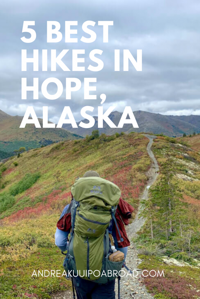 Here are the Best Hikes in Hope Alaska. If you plan on hiking in Alaska then check out these awesome hikes in Alaska with waterfalls, alpine lakes, amazing views of Denali and one of the best multi-day hiking trails in Alaska.