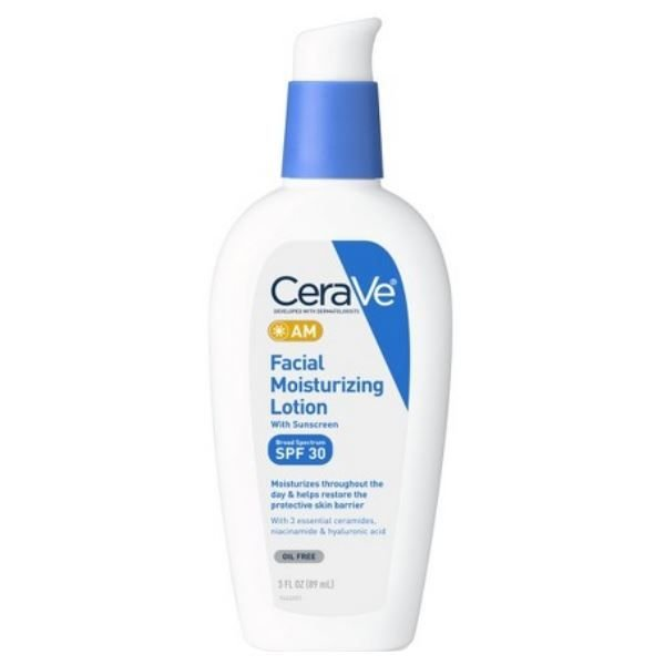CeraVe AM Facial Moisturizing Lotion SPF 30 Sunscreen