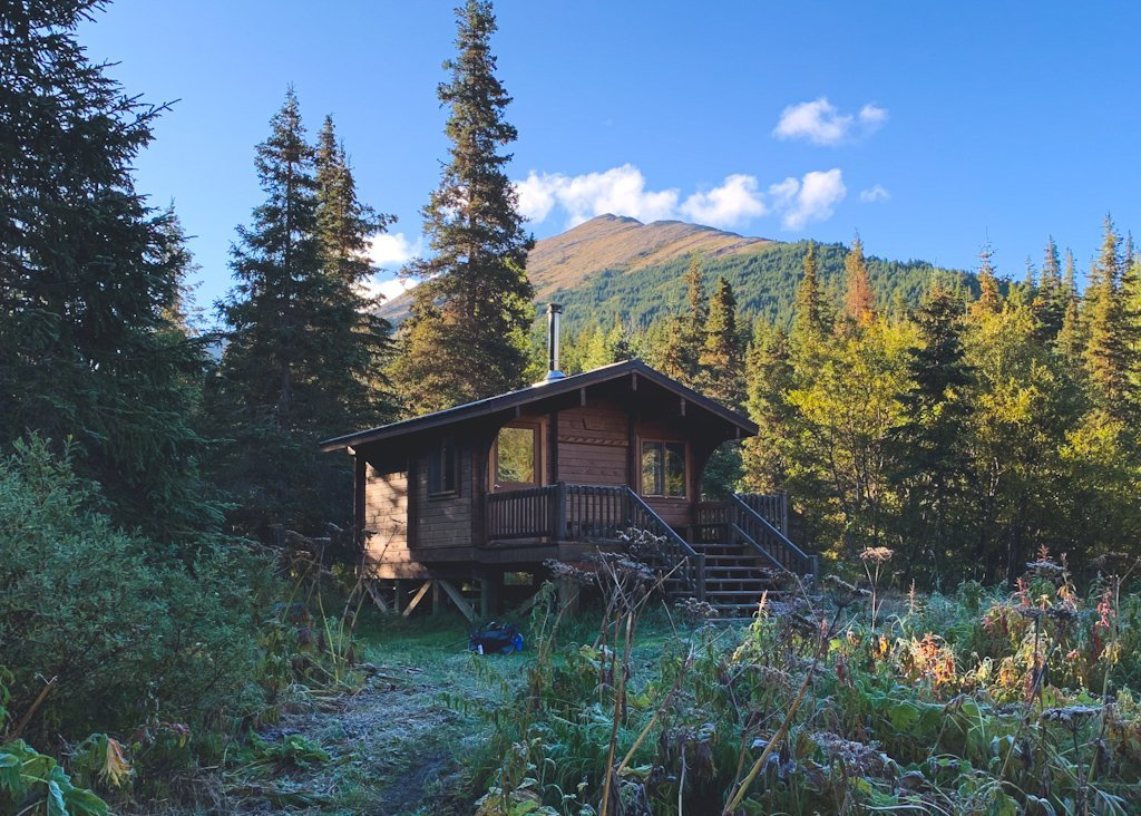Fox Creek Cabin Resurrection Pass Backpacking