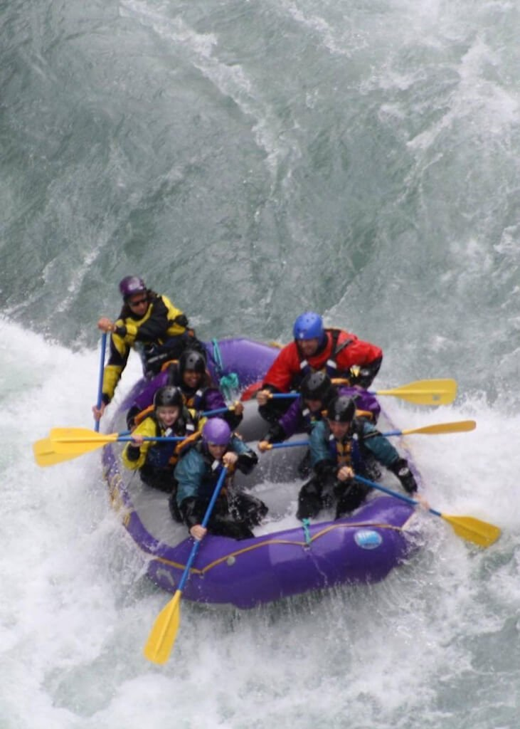 Whitewater Raft Six Mile Creek Alaska Top Things to Do in Hope