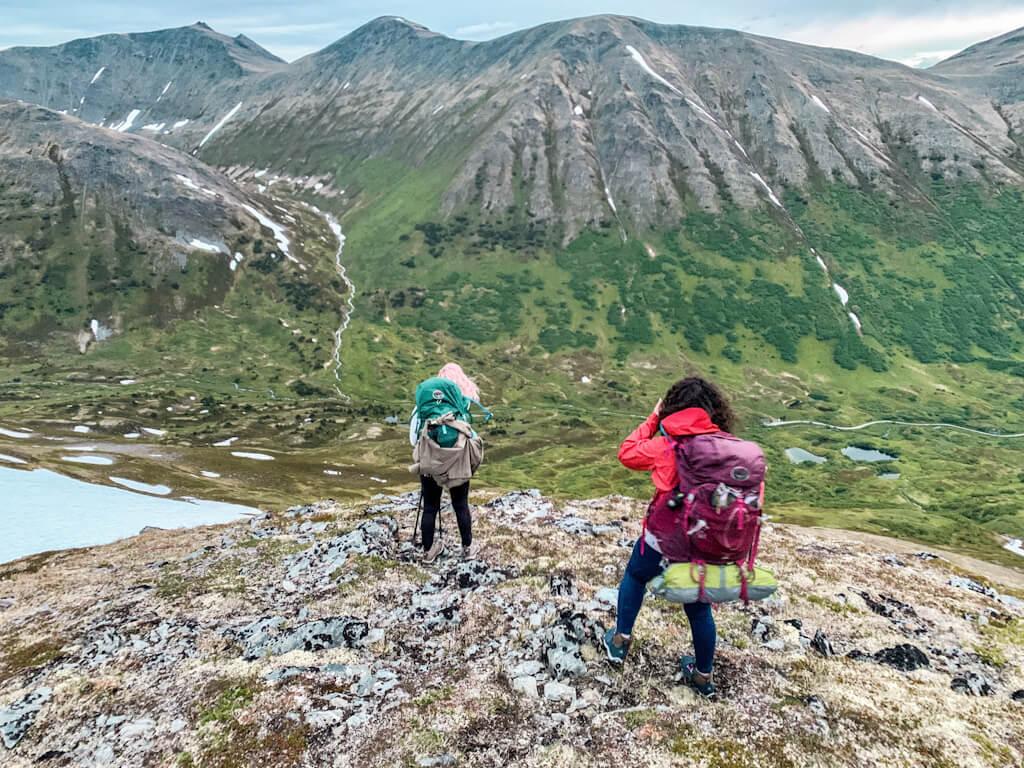 Backpacking Hope Alaska