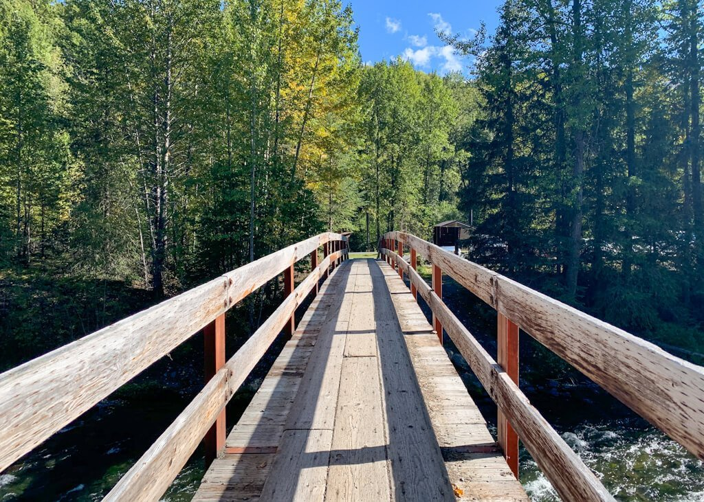 Resurrection Pass Trail Footbridge
