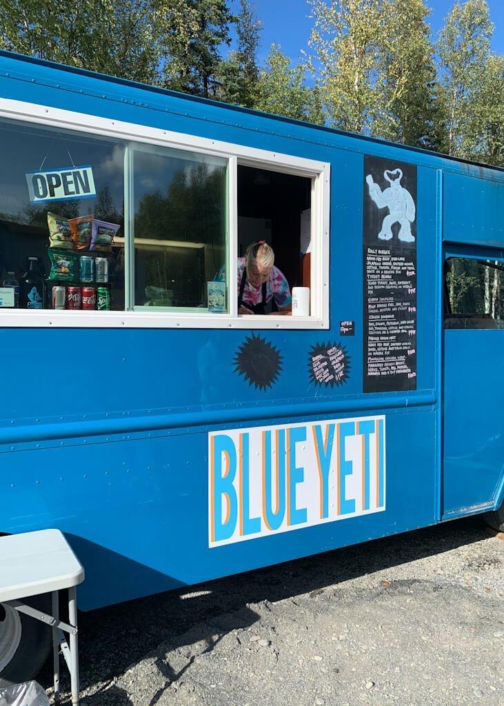 Blue Yeti Food Truck Cooper Landing Alaska