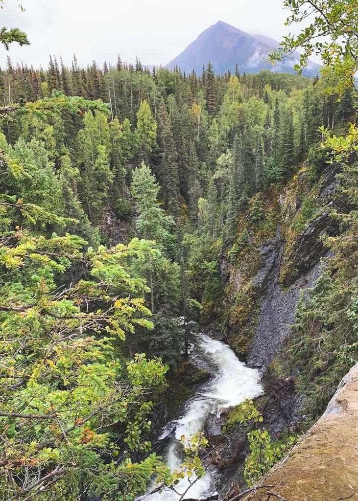 Juneau Creek Falls