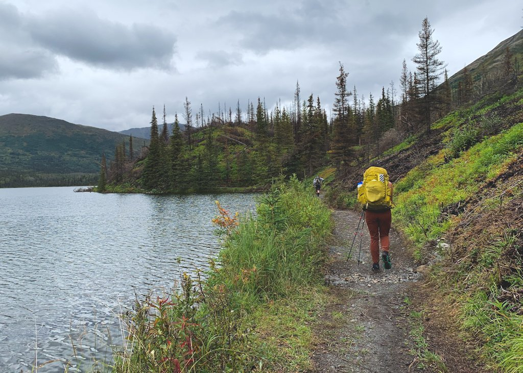 Juneau Lake Resurrection Pass Trail Backpacking