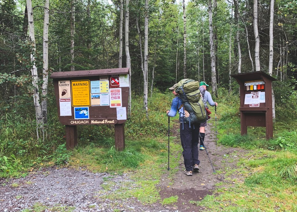 Resurrection Pass Trailhead South Alaska