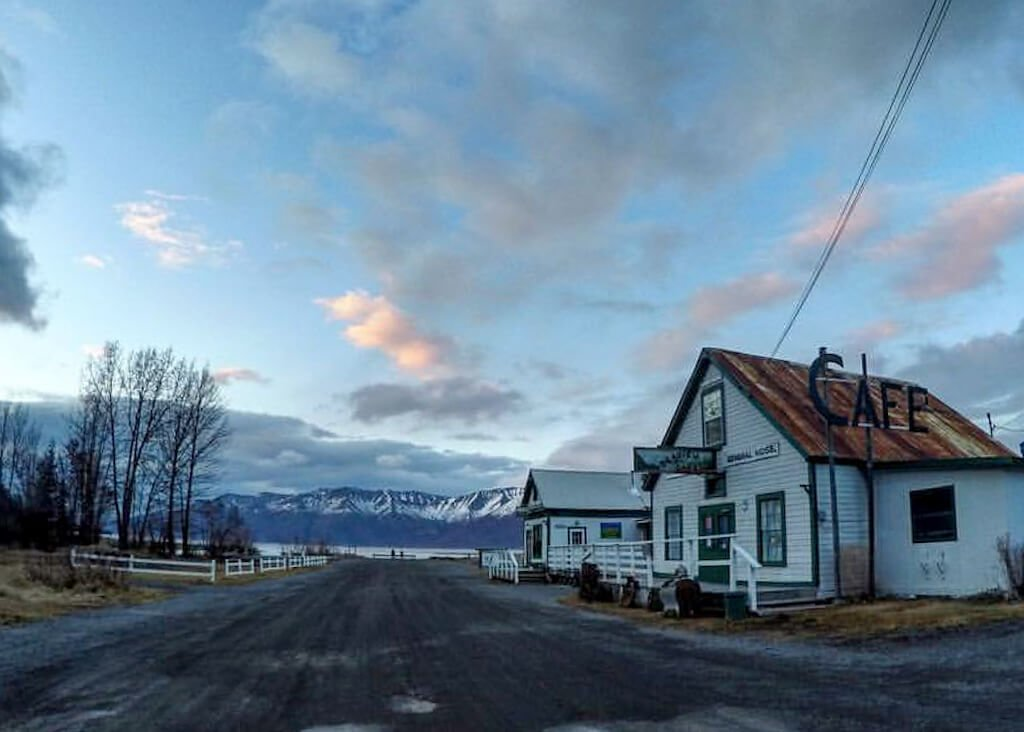 Seaview Cafe Turnagain Arm Bars Hope Alaska