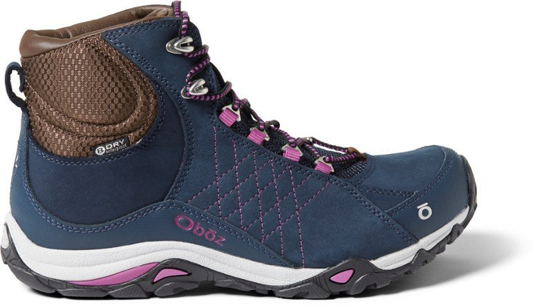 Obox Sapphire Mid BDry Womens Hiking Boots