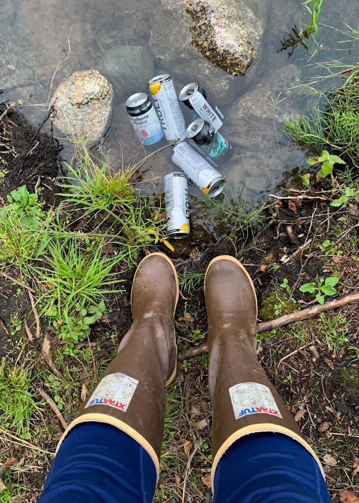 Denali Brewing Alaska Drinks Xtratuf Boots