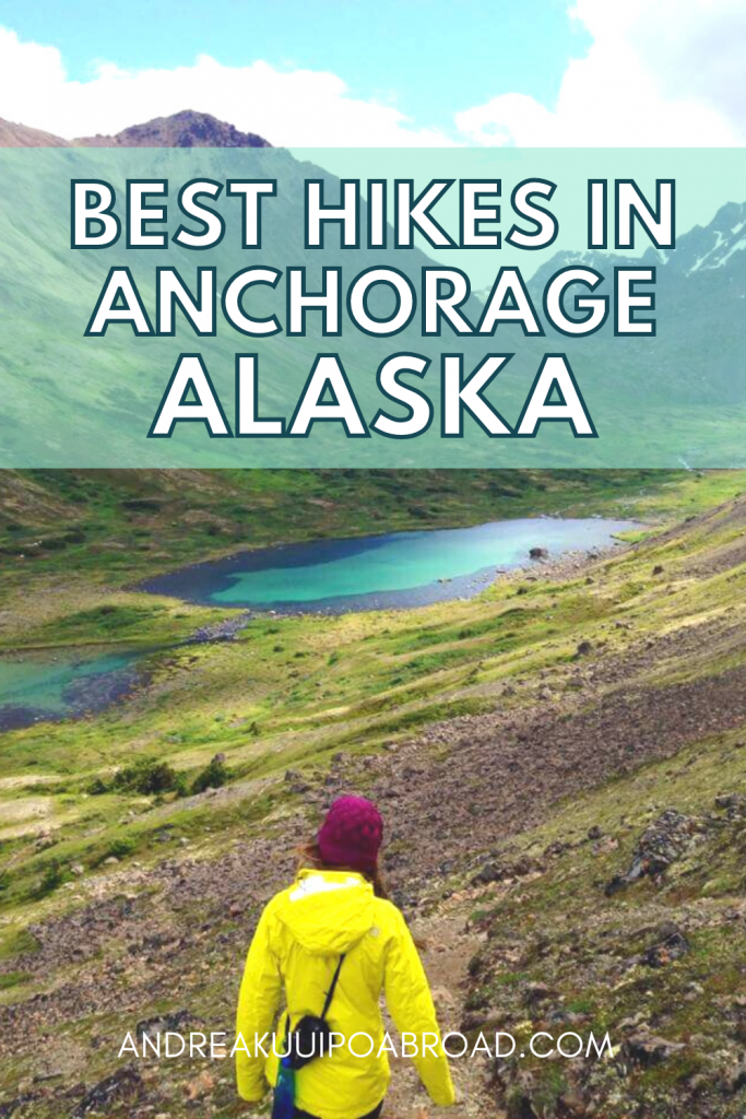 5 Best Hikes in Anchorage Alaska. From city views to alpine lakes, these Anchorage hiking trails make great day hikes. #alaska #hiking #backpacking #anchorage