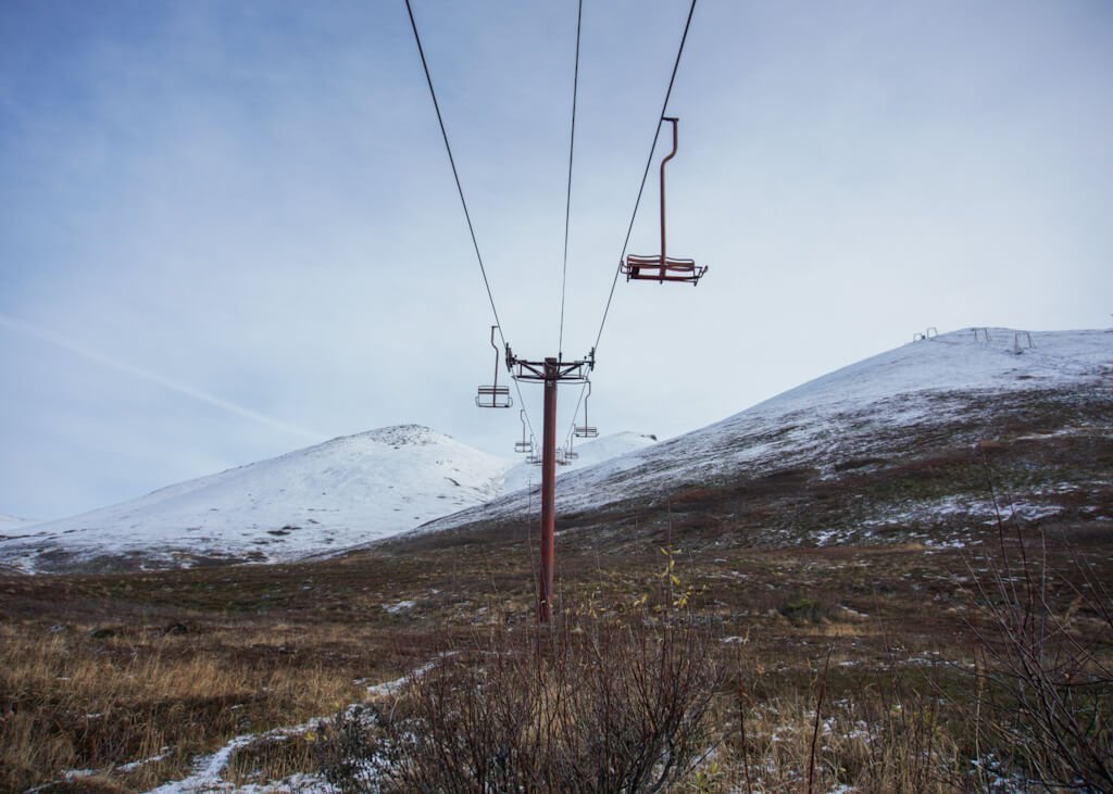 Arctic Valley Ski Lift Area