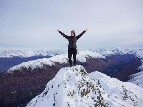 Hike Mount Gordon Lyon Arctic Valley Alaska