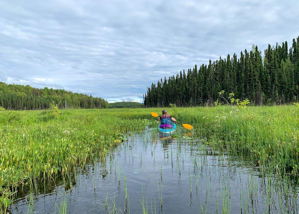 Water channel Swan Lake Canoe Route