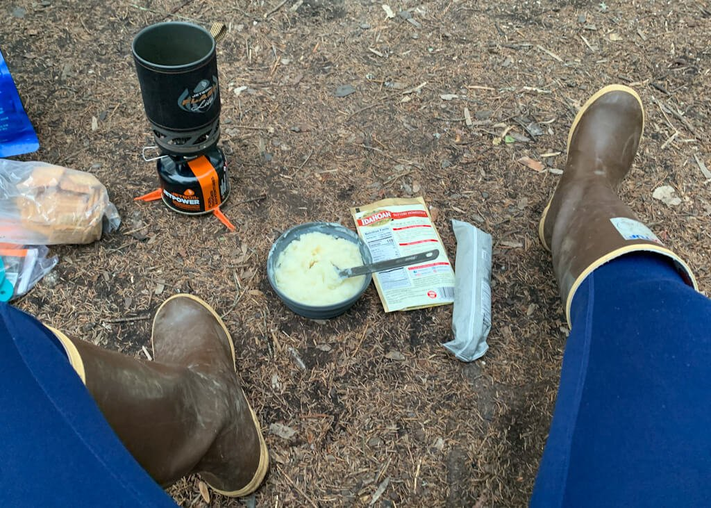 Kayak Camp Cooking with JetBoil
