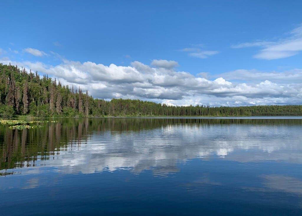 Alaska Contact Lake Reflection