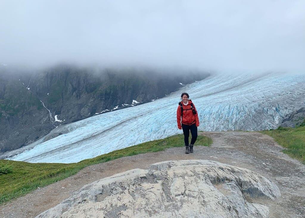 Hike Harding Icefield Trail in Seward Alaska Kenai Fjords National Park