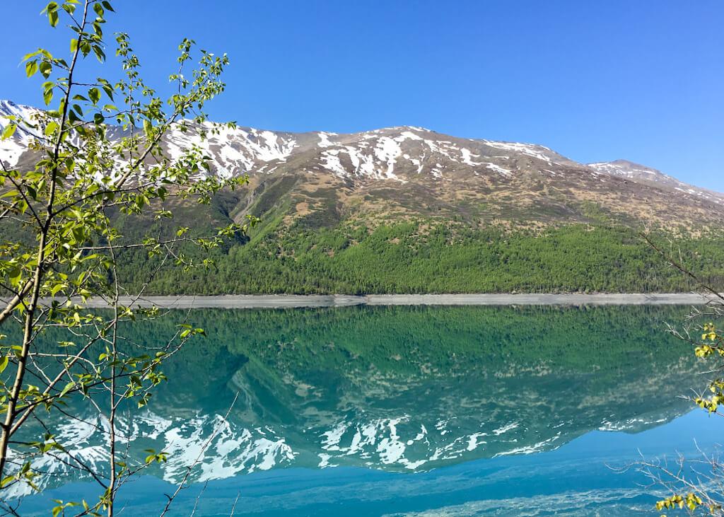 Eklutna Lake reflection