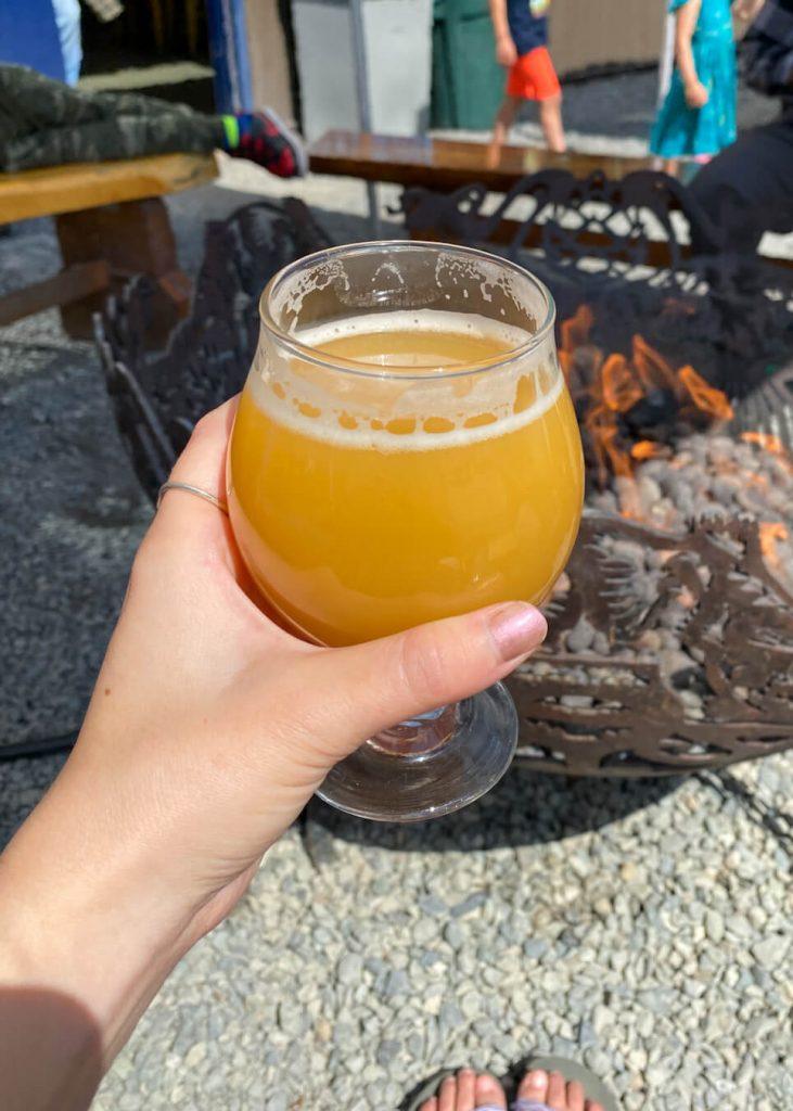 no woman no cryo beer girdwood brewing co alaska