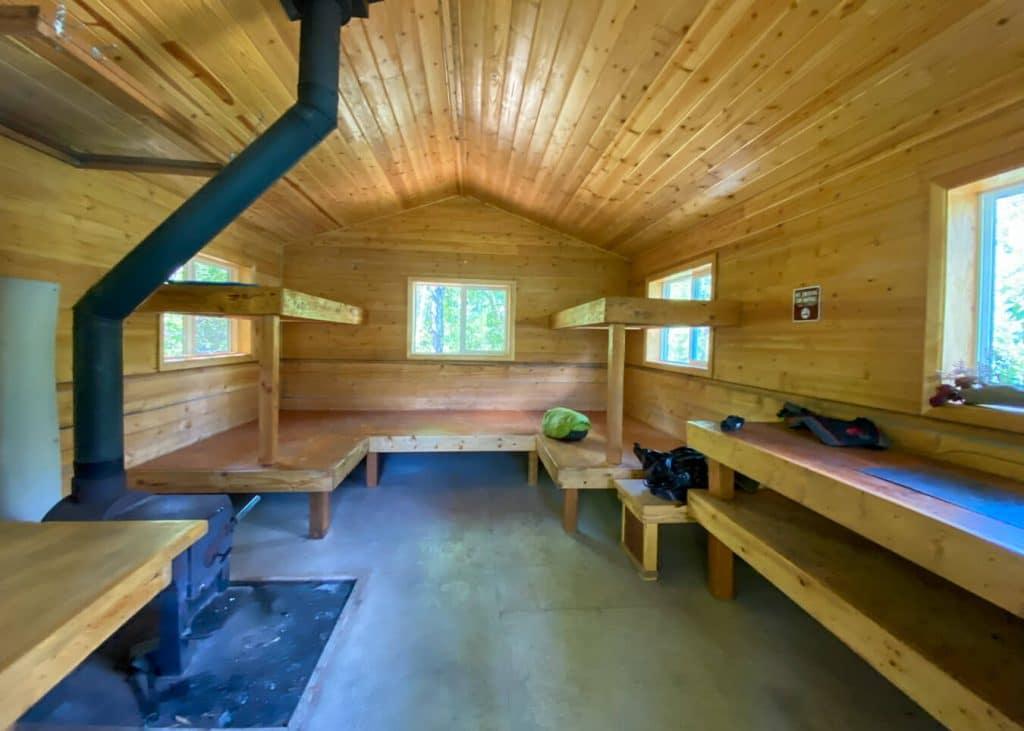 kokanee cabin inside view