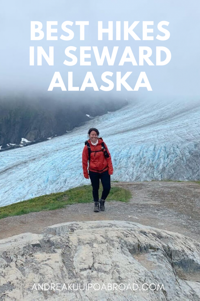 Looking for the best hikes in Seward? Seward is nestled between the mountains and the ocean. It's located 120 miles south of Anchorage and it's the gateway to Kenai Fjords National Park. Check out these 5 best hiking trail in Seward Alaska, which is the gateway to Kenai Fjords National Park. From day hikes to overnight backpacking trips, you'll want to plan your adventure travel now. #alaskatravel #hiking #alaska