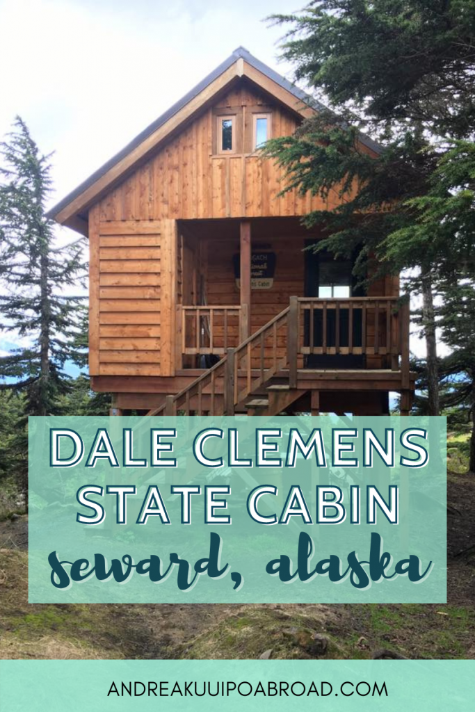 Stay at this public use cabin in Seward Alaska. Dale Clemens Cabin is a cabin that you can rent and sits overlooking Seward and Resurrection Bay. If you want to add some adventure travel to your Alaska vacation then add this to your list. #alaska #hiking #publicusecabin #sewardalaska #cabinreview