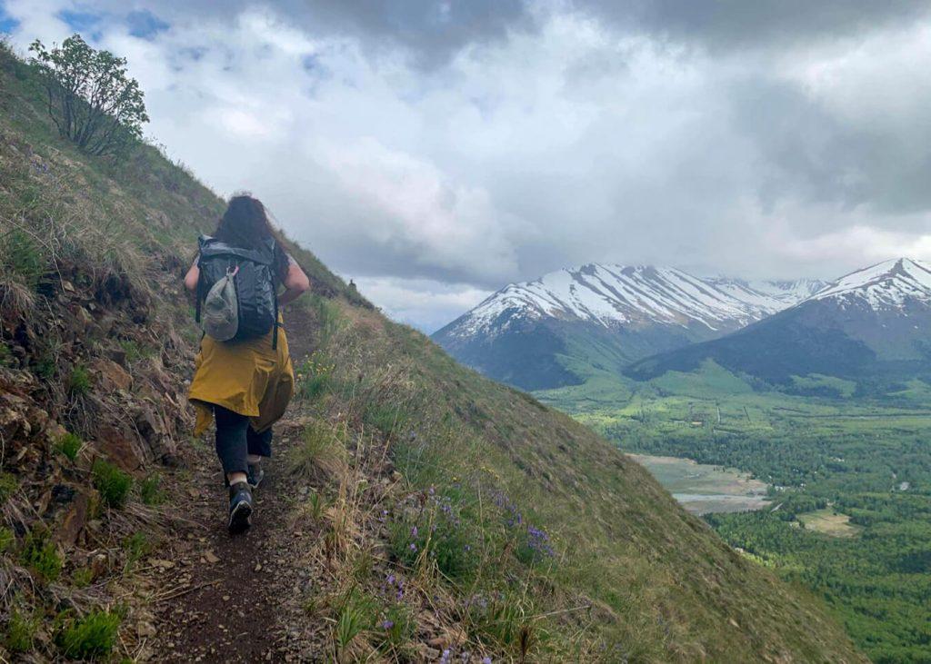 best hike in hope alaska