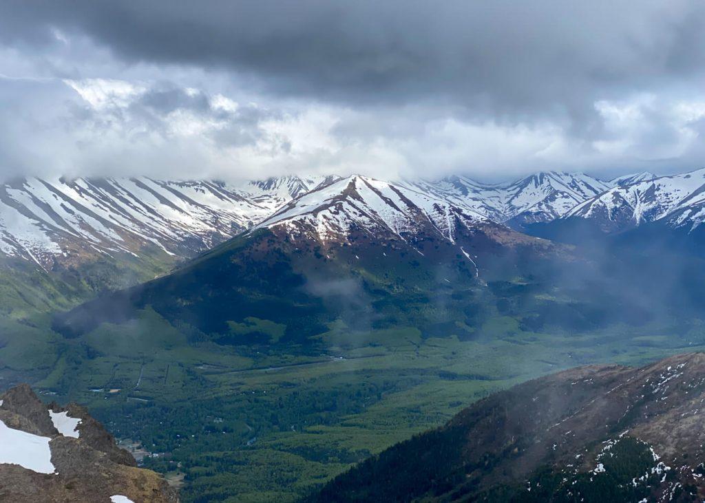 southcentral alaska mountains