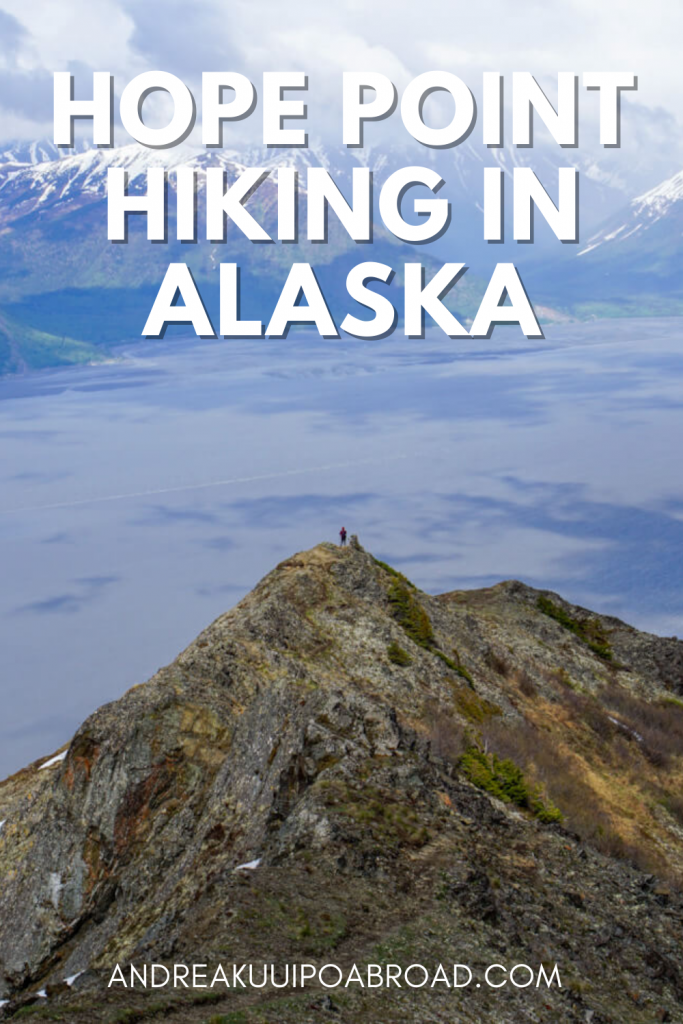 Hike Hope Point in Hope, Alaska. This is the best hike in Hope in Southcentral Alaska. If you are traveling to Hope, Alaska, this is a great day hike to add to your Alaska vacation. #alaska #hiking #alaskahike #hopealaska #travelalaska
