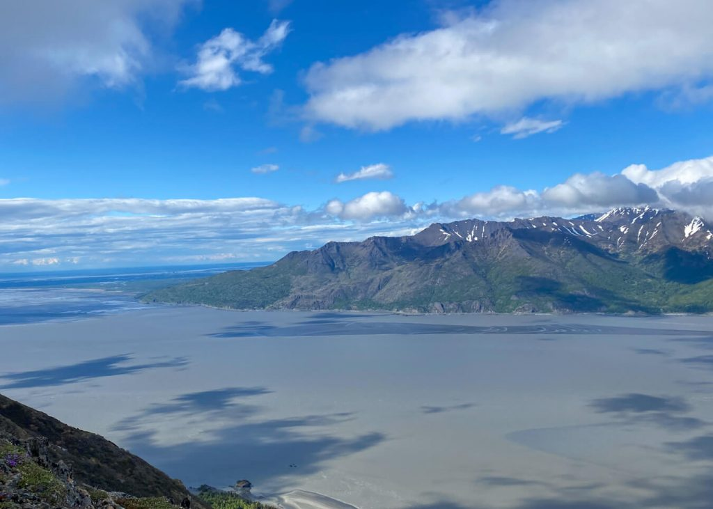 turnagain arm view from hope point trail