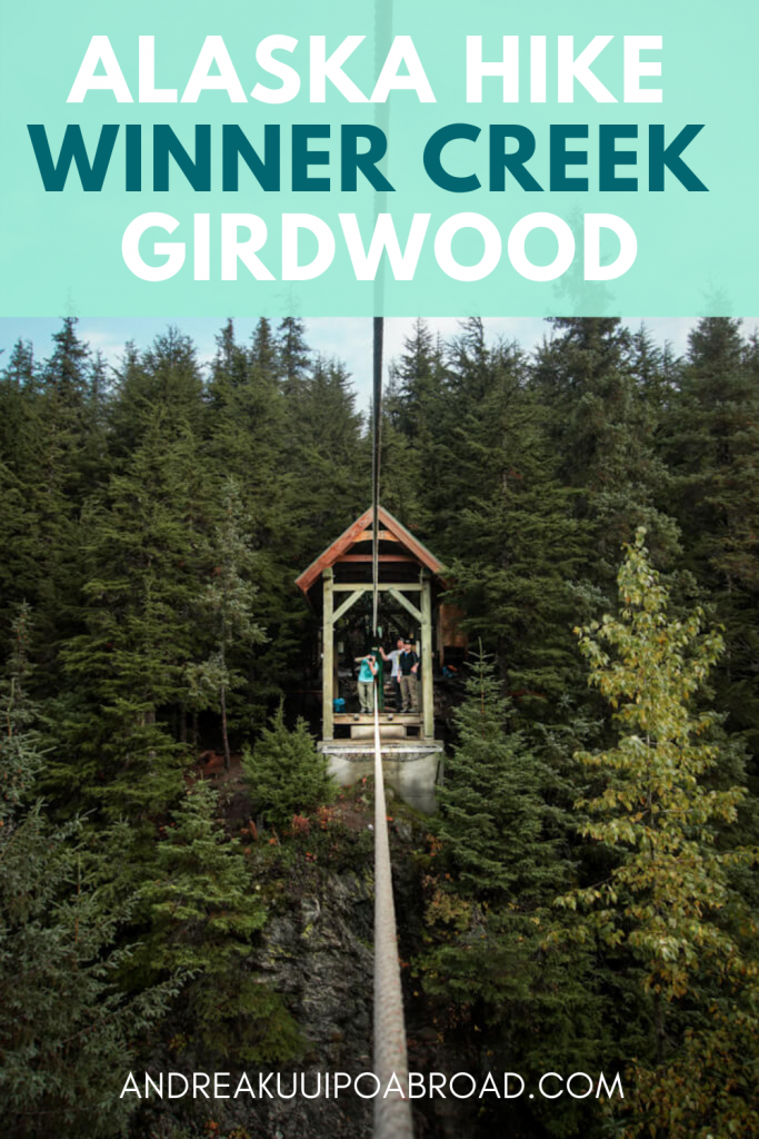 Hike Winner Creek Gorge in Girdwood, Alaska. This is the best hike in Girdwood in Southcentral Alaska. If you are traveling to Girdwood, Alaska, this is a great day hike to add to your Alaska vacation. #alaska #hiking #alaskahike #girdwood #travelalaska