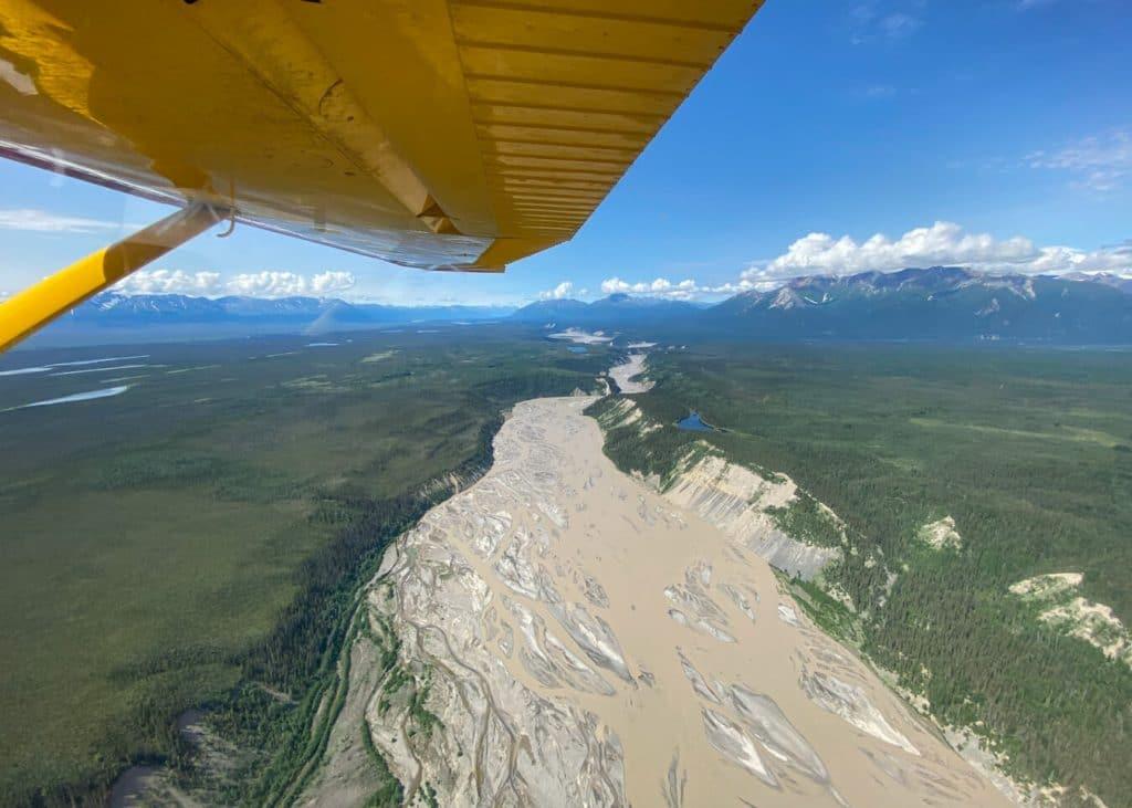 bush plane wrangell st elias national park